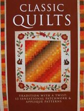 LIVRE/BOOK : CLASSIC QUILTS (courtepointes faire soi même,patchwork patterns