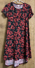 LuLaRoe Carly Floral Hi-low Dress Size XXS
