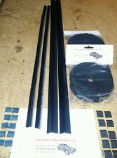Ford escort mk2 door glass seals kit This will do a 2 Door car. (Weather Seals)