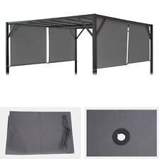 Ersatzbezug für Dach Pavillon, Pergola Baia 3x3m, grau