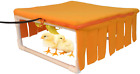 Chicken Heated Pad with Cozy Fleece Cover Rack for Chick Brooder Chick Coop