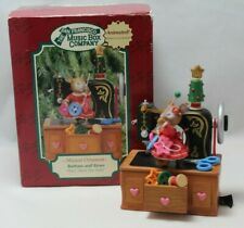 San Francisco Music Box Co Buttons and Bows Musical Animated Ornament