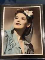 Dorothy Barrett Signed Autographed 8x10 Wizard Of Oz
