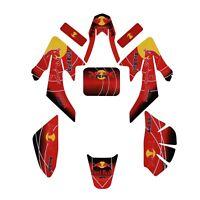 Decal Graphics Sticker Kit fr CRF50 XR50 70cc 110cc 125cc Dirt Pit Bike Taotao