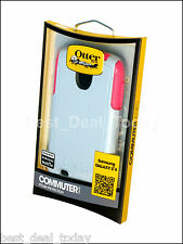 OEM Otterbox Commuter Shell Case For Samsung Galaxy S4 S 4 Wild Orchid Pink Grey