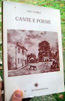 1976 POESIE DI LINO GUERRA DA LUGO DI ROMAGNA 'CANTE E POESIE'