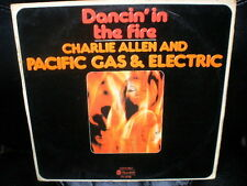 LP PACIFIC GAS ELECTRIC charlie allen SPANISH rare 1976 different cover VINYL