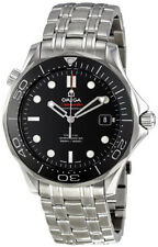 212.30.41.20.01.003 | BRAND NEW OMEGA SEAMASTER DIVER 300M BLACK DIAL MENS WATCH