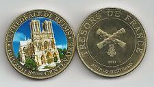 800 Ans de la Cathédrale de Reims  Médaille colorisée 2011 ARTHUS BERTRAND