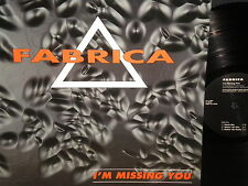 """Fabrica """"I'm Missing You"""" LP"""