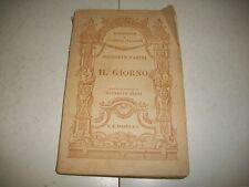 GIUSEPPE PARINI-IL GIORNO-PARAVIA-1931-BIBLIOTECA DI CLASSICI ITALIANI