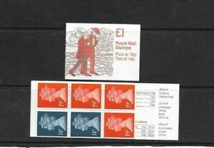 GB 1988 Charles Dickens #2 Folded £1 Stamp Booklet - FH14