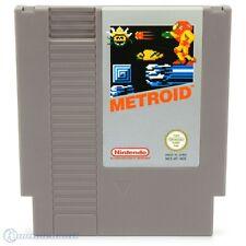 Nintendo NES Spiel - Metroid PAL-B Modul mit Anl.