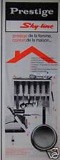 PUBLICITÉ 1964 PRESTIGE SKY LINE BATTERIE DE CUISINE INOXYDABLE - ADVERTISING