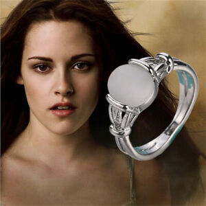 The Twilight Saga: Breaking Dawn Bella's Ring Women Jewelry Cat Eye Opal Rings