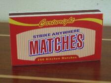 Strike Anywhere matches1