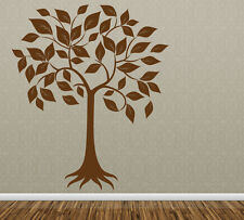 Wall Art Tree T4 ONE COLOR MIR Vinyl Decor Decal Sticker Mural Decoration T4F