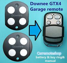 Downee GTX4  G TX4 Garage Door Remote for Downee GTX4 TX4 TX3