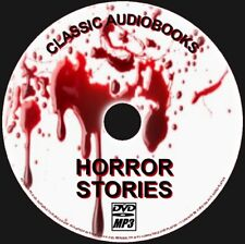 60 CHILLING HORROR TALES MP3 AUDIO BOOKS SCARY NOVELS SHORT STORIES NEW ON PCDVD