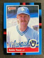 1988 Donruss Robin Yount #295 - Milwaukee Brewers - HOF - NM-MT