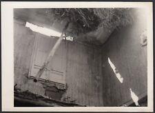 YZ1230 Italia 1950 - Veduta dopo il terremoto in un paese da identificare - Foto