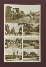 Lancashire Lancs WIGAN  M/view inc pier c1930/40s? RP PPC by Valentine