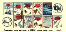 FRANCE 2007 FDC carte TINTIN Kuifje Tim HERGE cachets GUEBWILLER Haut-Rhin Tibet