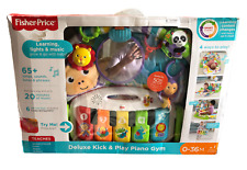 Fisher-Price Fgg45 Deluxe Kick 'n Play Baby Piano Gym