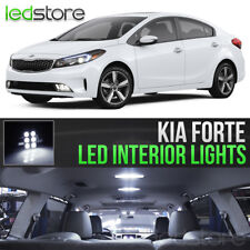 White LED Lights Interior Kit Package Bulbs For 2010-2018 Kia Forte