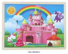 Wooden Princess Castle Jigsaw 48 PC Puzzle by Fun Factory 3