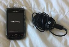 BlackBerry Torch 9800 - 4GB - Black (AT&T) Smartphone Track Pad Slide Up Push