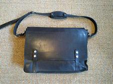 Fabulous Paul Smith by Matt Fothergill Black Leather Briefcase/Messenger Bag