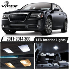 2011-2014 Chrysler 300 White LED Interior Lights Package Kit