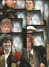 Doctor Who Magazine The Doctors Collectors Cards (12 in total)