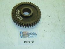 White Gear-belt Pulley BS670