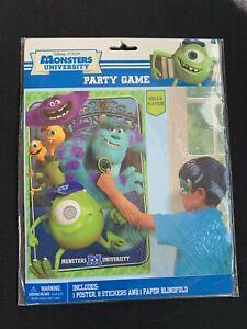 Disney Pixar Monsters University Birthday Party Blindfold Game