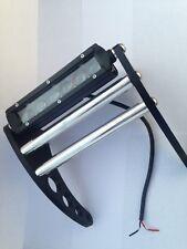 """Lighted Yamaha Banshee Front  Bumper  """"Black Anodized Aluminum"""""""