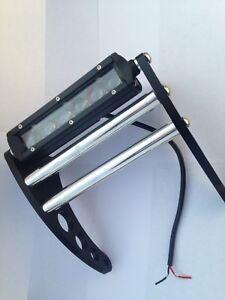 """Banshee Bumper Yamaha YFZ350  LED Front  Bumper  """"Black Anodized Aluminum"""""""