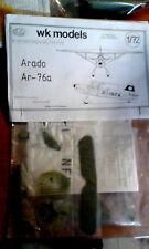 1:72 WKmodels aeromodell Arado-76a  Resinbausatz extrem selten