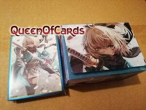 Weiss Schwarz Fate Grand Order Okita Card Sleeve set