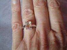 Mawi Kunzite Ring, Taille N/O, 2.49 carats, en 3.23 G de argent sterling 925