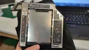 Thinkpad Serial ATA hard Drive Bay Adapter (with case) PN: 26R9247