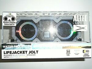 Altec Lansing Lifejacket Jolt Rugged Bluetooth Speaker w/ Lighting Effects -Gray