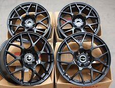 "17"" BLACK KAISER ALLOY WHEELS FIT VW T5 T6 T28 T30 T32 AMAROK TOUAREG 2.5"