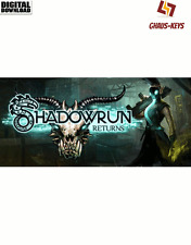 Shadowrun Returns STEAM Key Pc Game Download Code Spiel Blitzversand [DE] [EU]