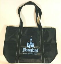 Disneyland Resort Large Lined Travel Tote Bag Zipper Pockets Vacation Beach