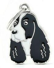 Springer Spaniel Dog ID Tag (87) - Engraved FREE - Personalised - Charm  Keyring