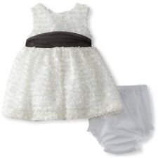 "NEW ""WHITE FRINGE"" Easter Dress Baby Girls 18m Spring Summer Boutique Clothes"