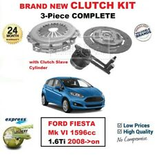 FOR FORD FIESTA Mk VI 1596cc 1.6Ti 2008->on BRAND NEW 3-Piece CLUTCH KIT and CSC