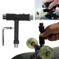 Skateboard T-type Screwdriver Socket Tool Skate T-Tool  Kits 5 Colors